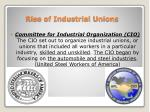 rise of industrial unions2