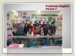 freshman english period 7