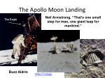 the apollo moon landing