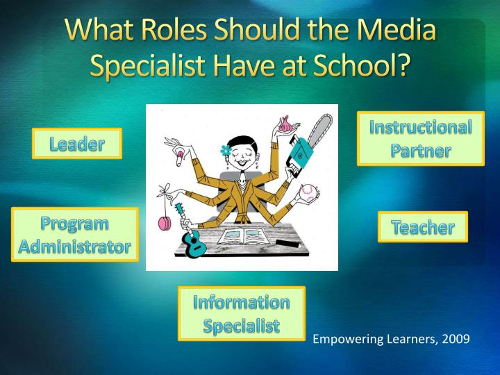 What Roles Should the Media Specialist Have at School?
