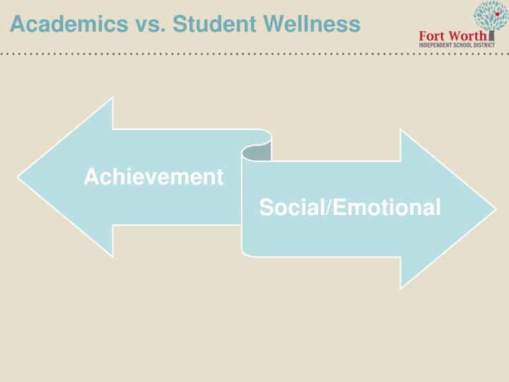 Academics vs. Student Wellness