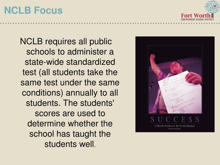 NCLB Focus