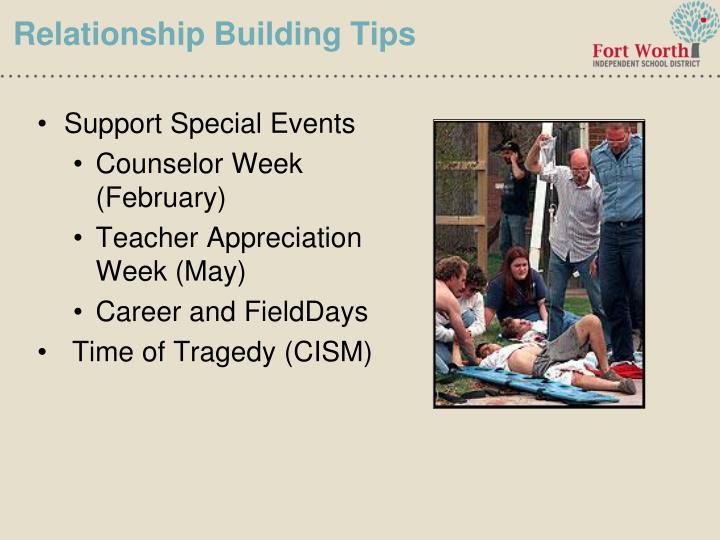 Relationship Building Tips