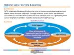 national center on time learning
