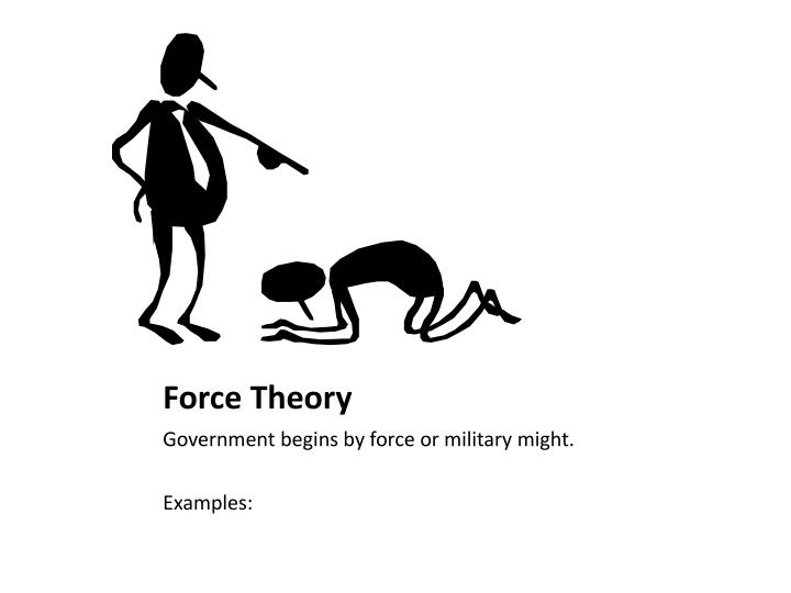 Force theory examples.
