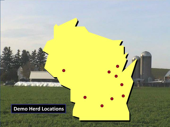 Demo Herd Locations
