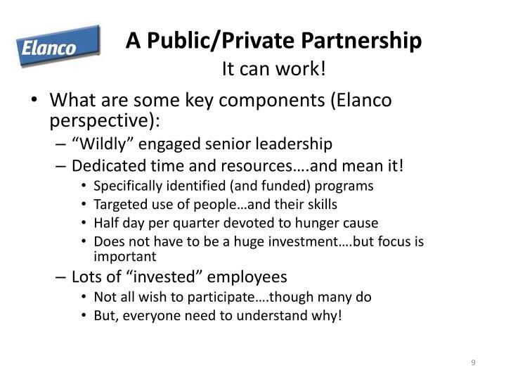 A Public/Private Partnership