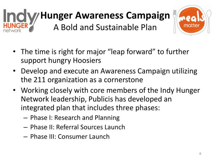 Hunger Awareness Campaign