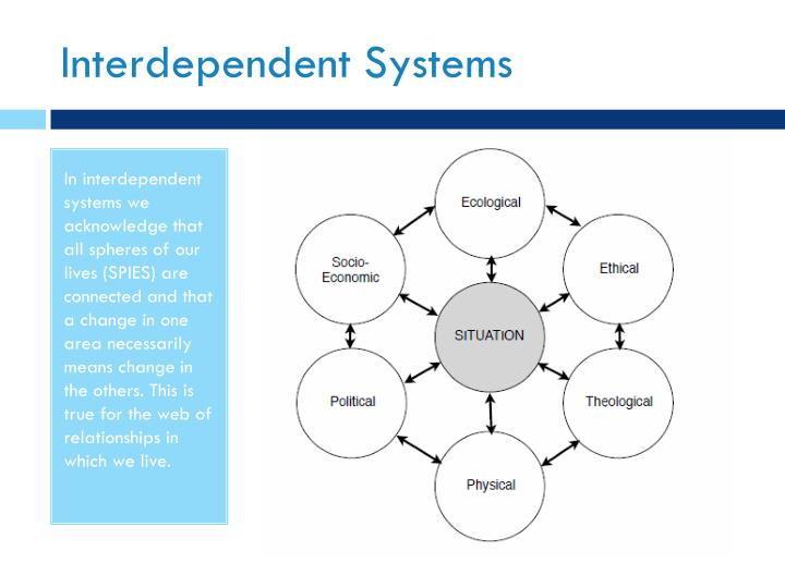 Interdependent Systems