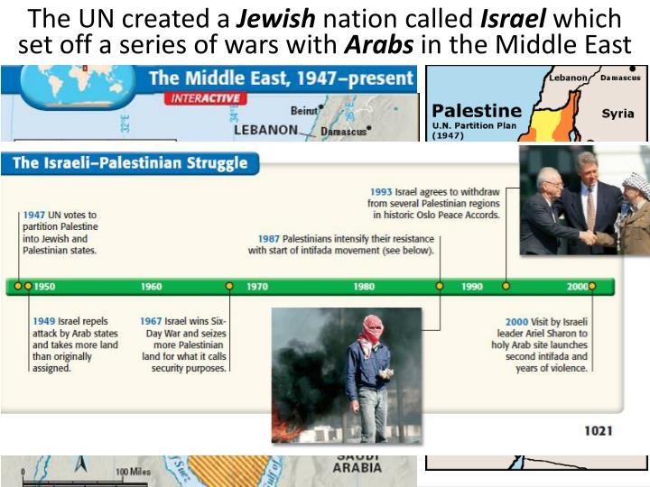The UN created a