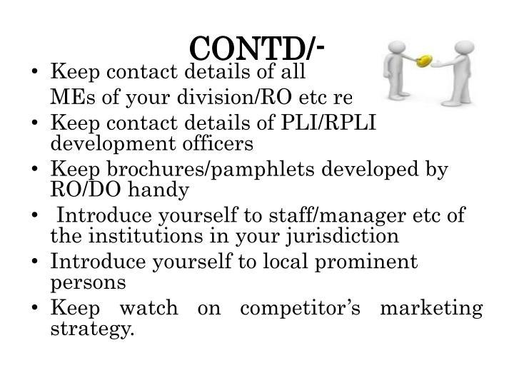 CONTD/-