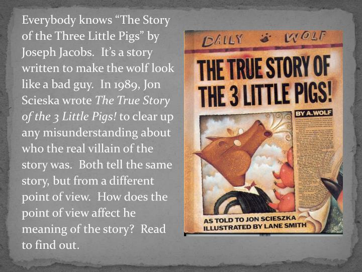 """Everybody knows """"The Story"""