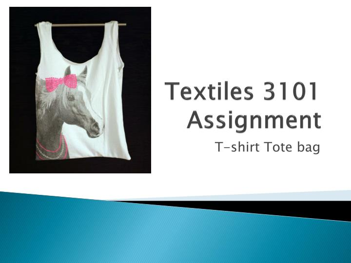 textiles 3101 assignment n.