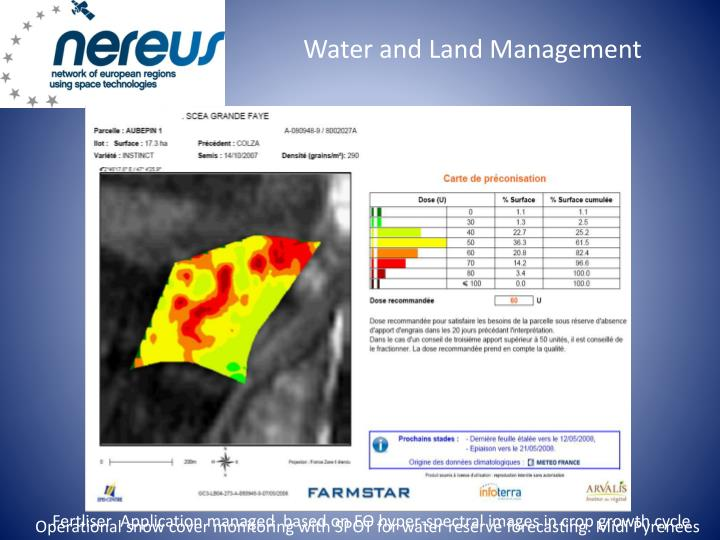Water and Land Management