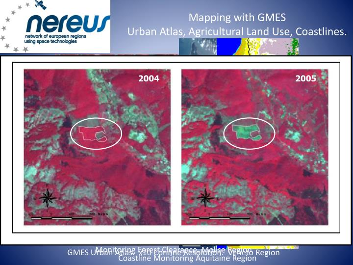 Mapping with GMES