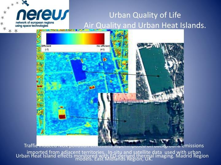 Urban Quality of Life