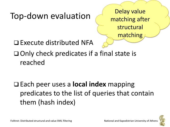 Delay value matching after structural matching