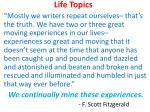 life topics