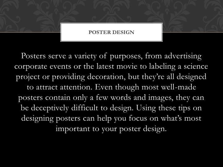 Poster design1