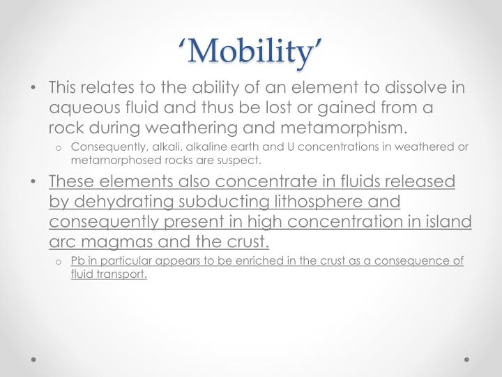 'Mobility'