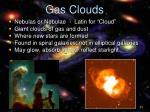 gas clouds
