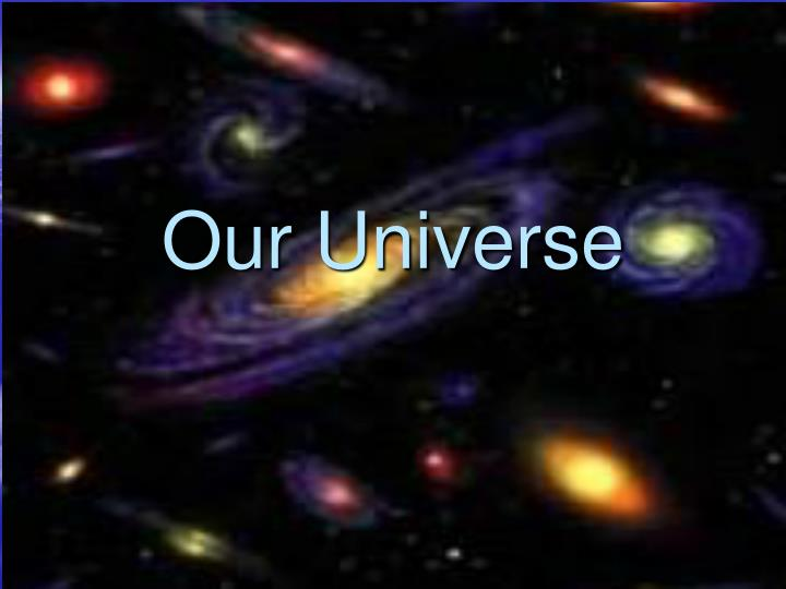 our universe n.
