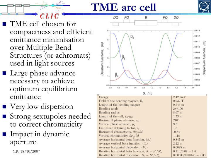 TME arc cell