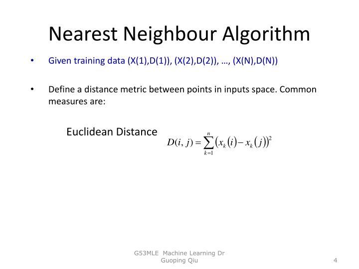 Nearest Neighbour Algorithm