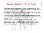 major systems of the body1