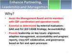 enhance partnering leadership and management1