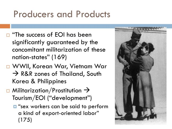 Producers and products