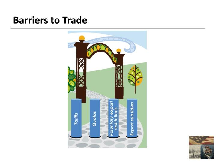 Barriers to Trade