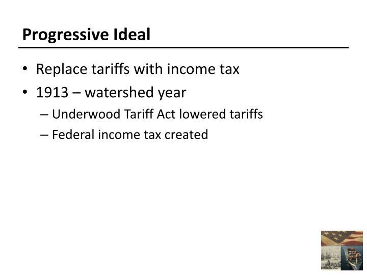 Progressive Ideal