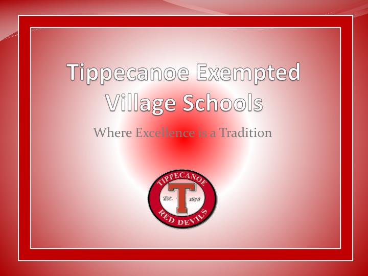 Tippecanoe exempted village schools
