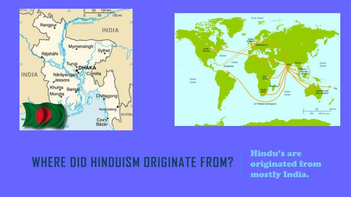 Where did hinduism originate from