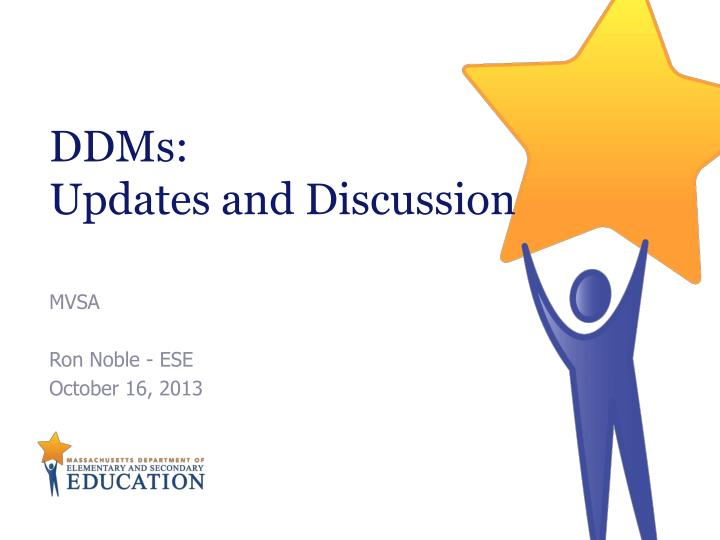 ddms updates and discussion n.