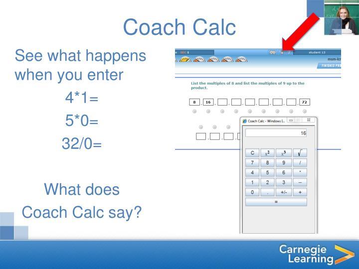 Coach Calc