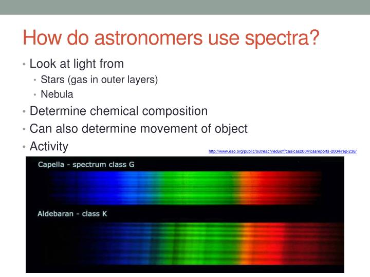 How do astronomers