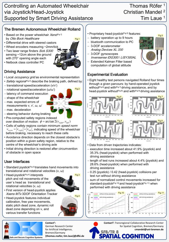 Controlling an Automated Wheelchair