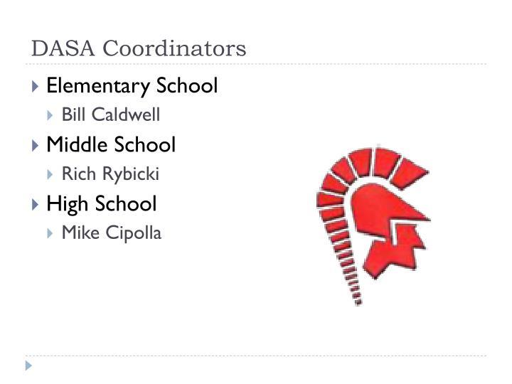 DASA Coordinators