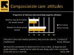 compassionate care attitudes