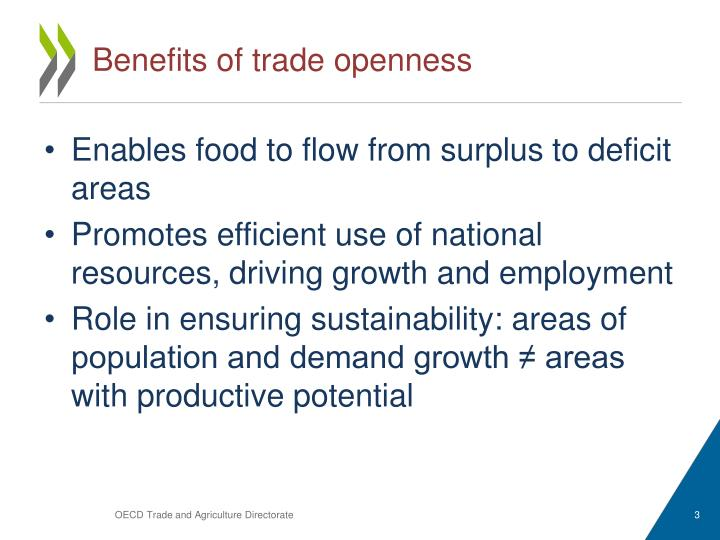 Benefits of trade openness