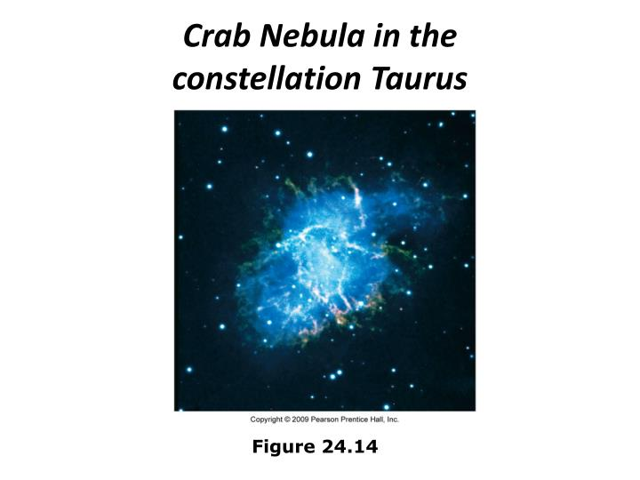 Crab Nebula in the