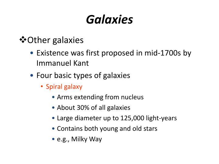 Galaxies