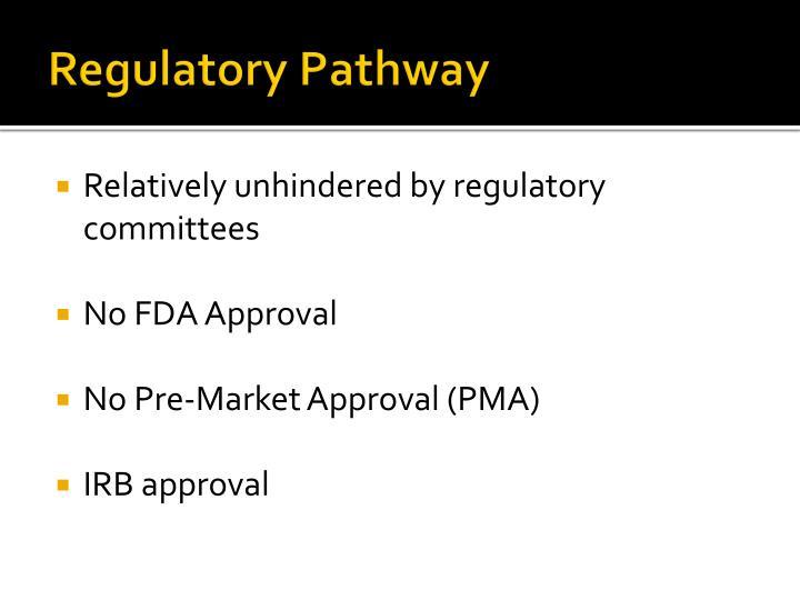 Regulatory Pathway