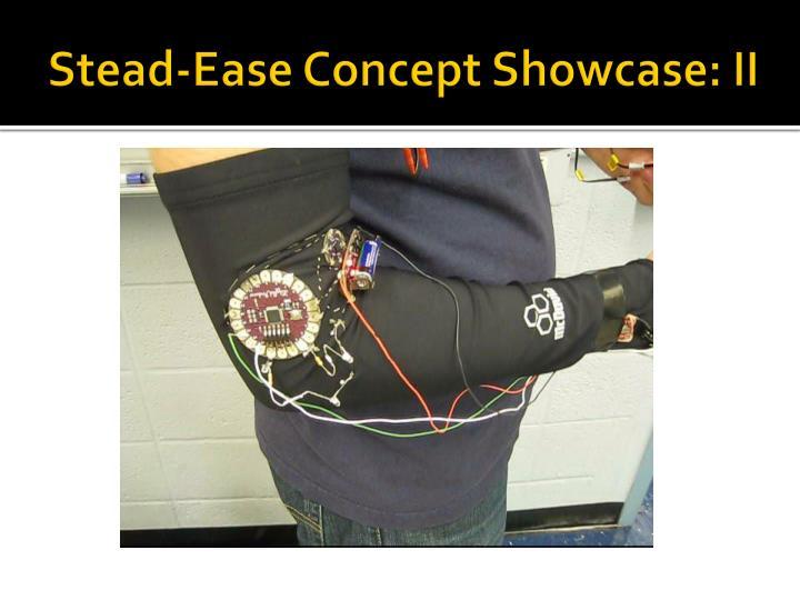 Stead-Ease Concept Showcase: