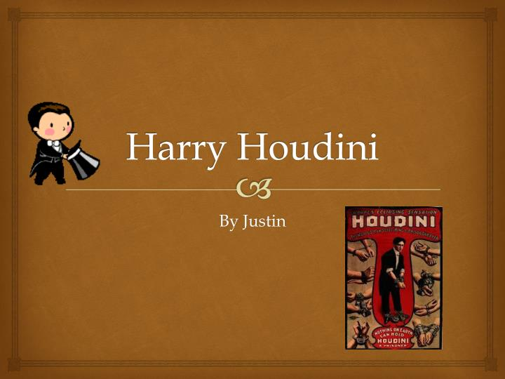 harry houdini n.