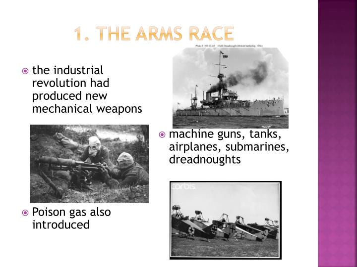 1 the arms race