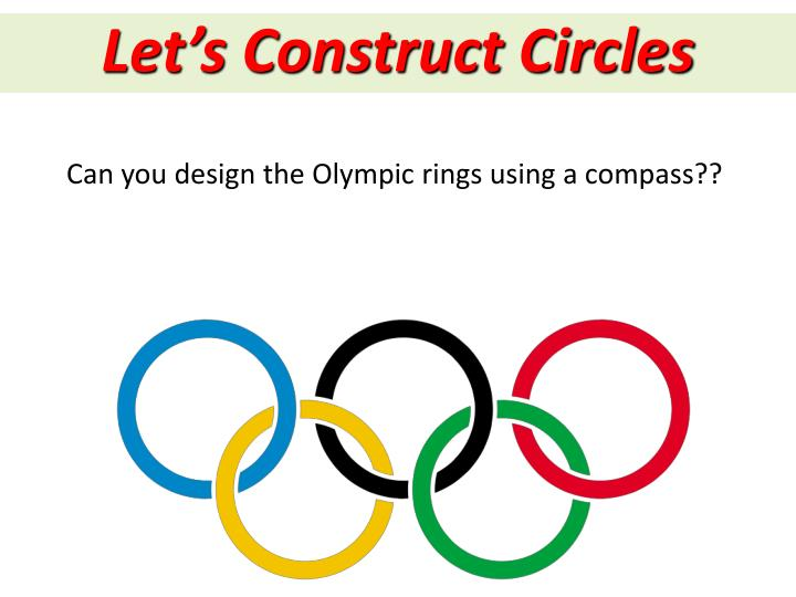 Let's Construct Circles