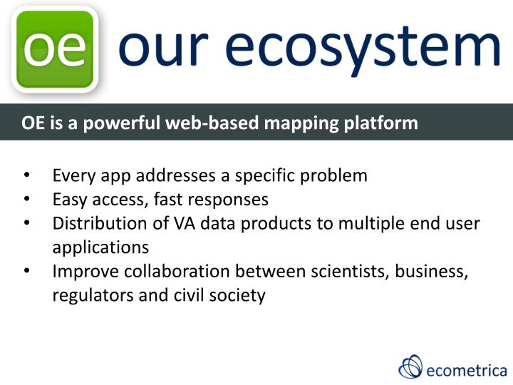 OE is a powerful web-based mapping platform
